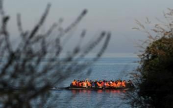 Συνεχίζονται οι ροές μεταναστών στο Βόρειο Αιγαίο