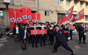 Παρέλαση μαθητών με στολές Ναζί στην Ταϊβάν