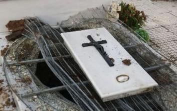 Σύλησαν τάφους και άνοιξαν φέρετρα στα Τρίκαλα