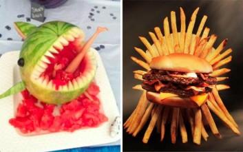 Όταν η φαντασία στη μαγειρική γίνεται κιτς