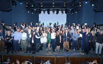 Βραβεύτηκαν οι καλύτεροι της ελληνικής εστίασης