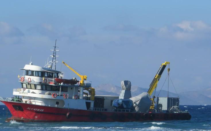 Μυστήριο με το φορτίο του τουρκικού πλοίου στην Κω