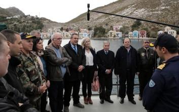 Οργή στους «53» του ΣΥΡΙΖΑ για την επίσκεψη στο Καστελόριζο