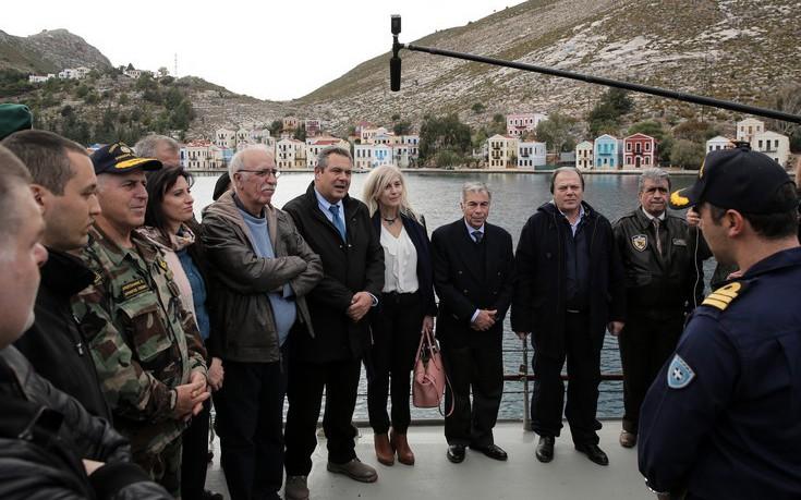 Αποτέλεσμα εικόνας για επίσκεψη στο Καστελόριζο