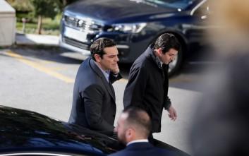 Ο Αλέξης Τσίπρας εγκαινιάζει την Ιόνια Οδό