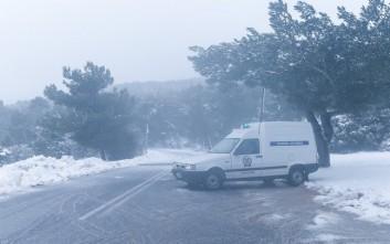Δύσκολη η κατάσταση στο οδικό δίκτυο της Κεντρικής Μακεδονίας