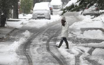 Νέες χιονοπτώσεις αναμένονται τη νύχτα στην Αττική