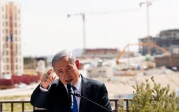 Οι αντιαεροπορικές σειρήνες διέκοψαν απότομα προεκλογική ομιλία του Νετανιάχου