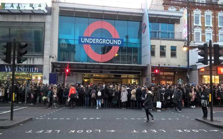 Χάος στο Λονδίνο από την απεργία των τρένων