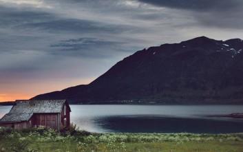 Έρημα σπίτια πάνω από τον Αρκτικό Κύκλο