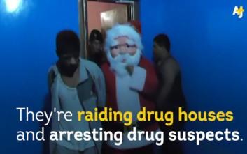 Αυτοί οι Άγιοι Βασίληδες δεν φέρνουν δώρα… μόνο συλλήψεις