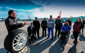 Ολυμπιονίκες βρέθηκαν πίσω από το τιμόνι του αγωνιστικού Civic Type-R