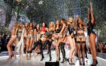 Κόλασαν το Παρίσι τα αγγελάκια της Victoria's Secret