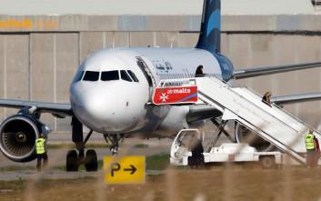 Δύο αεροπειρατές με χειροβομβίδες στο αεροσκάφος στη Μάλτα