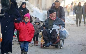 Οικογένειες τζιχαντιστών διέφυγαν από τη Ράκα