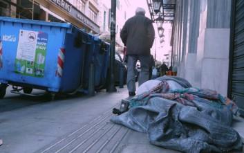 Θερμαινόμενο χώρο ανοίγει ο δήμος Αθηναίων για τους αστέγους
