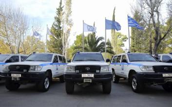Τα νέα ειδικού τύπου ημιθωρακισμένα οχήματα της ΕΛ.ΑΣ.