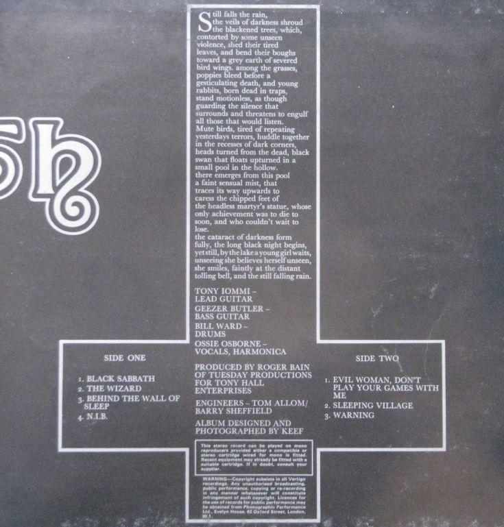 black sabbath cross