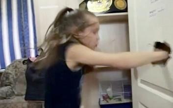 Κανείς δεν θέλει να τα βάλει με αυτήν την 9χρονη μποξέρ