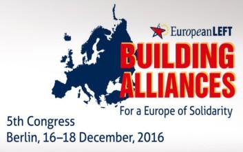 Αντιπροσωπεία του ΣΥΡΙΖΑ στο 5ο συνέδριο της Ευρωπαϊκής Αριστεράς