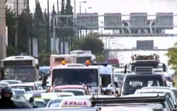 Κυκλοφοριακό μπλακ άουτ στο κέντρο της Αθήνας λόγω συλλαλητηρίων