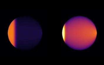 Το πρώτο δελτίο καιρού για ένα μεγάλο εξωπλανήτη
