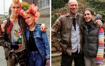 Το πέρασμα των χρόνων μέσα από δύο φωτογραφίες
