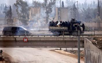Βομβιστική επίθεση με στόχο Τουρκική οχηματοπομπή στο Χαλέπι