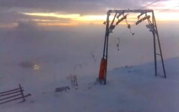 Υπέροχες εικόνες από χιονοδρομικά κέντρα σε όλη τη χώρα