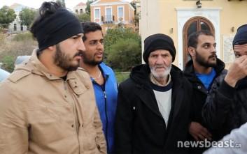 Κραυγή απελπισίας από 32 αποκλεισμένους πρόσφυγες στο Καστελόριζο