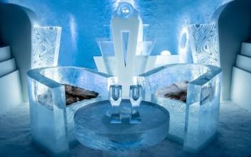 Δημιουργίες από πάγο που καθηλώνουν