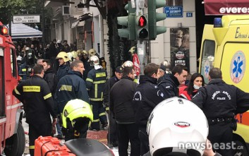 Ισοπεδώθηκε το υπόγειο από την έκρηξη στην πλατεία Βικτωρίας
