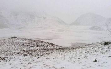 Ο Καλλικράτης στα Σφακιά σε 25 χιονισμένες φωτογραφίες