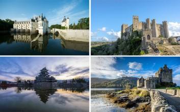 Επιβλητικά κι ατμοσφαιρικά κάστρα από όλο τον κόσμο