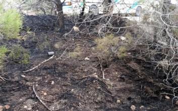 Φωτιά ξέσπασε τα μεσάνυχτα στη Γαύδο
