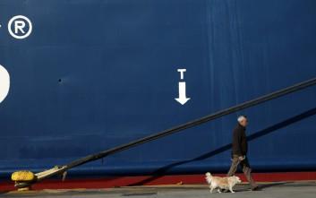 «Δεμένα» τη Δευτέρα τα πλοία στα λιμάνια