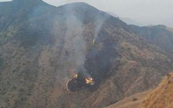 Οι πρώτες εικόνες από το αεροπλάνο που συνετρίβη στο Πακιστάν