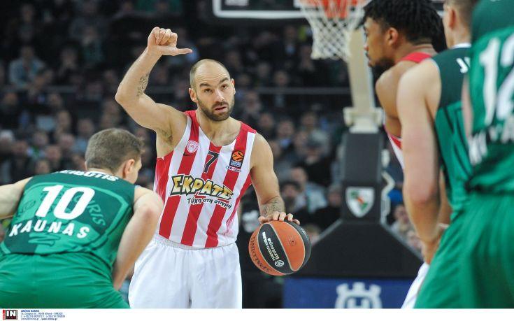 «Κορυφαίος ηγέτης στην EuroLeague ο Σπανούλης»