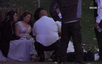 Φωτογραφίες και βίντεο από τον γάμο στην Καλιφόρνια που βάφτηκε με αίμα