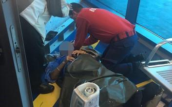 Επιβάτες εκτοξεύτηκαν από τα καθίσματά τους σε αεροσκάφος που έπεσε σε αναταράξεις