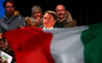 Το δημοψήφισμα που κρίνει την «επιβίωση» της κυβέρνησης Ρέντσι