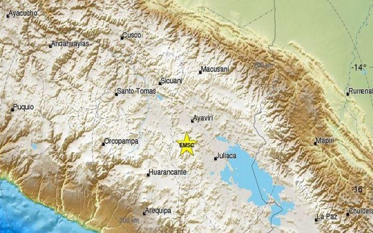 Ισχυρός σεισμός 6,2 Ρίχτερ στο Περού
