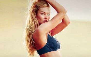 Candice Swanepoel: Έχω νιώσει ντροπή ενώ θηλάζω, ποτέ για τα γυμνά