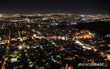 Η Αθήνα από ψηλά μέσα από ένα Σινούκ