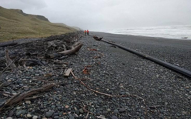 Νέο «μυστήριο» στις ακτές της Νέας Ζηλανδίας