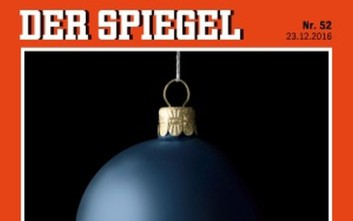Το σκοτεινό χριστουγεννιάτικο εξώφυλλο του Spiegel