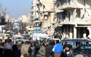 Τριπλή επίθεση αυτοκτονίας στη Δαμασκό