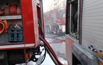 Φωτιά σε διαμέρισμα στο Ηράκλειο Κρήτης