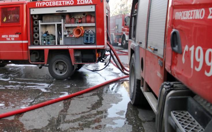 Φωτιά στο Κέντρο Φιλοξενίας της Softex στη δυτική Θεσσαλονίκη
