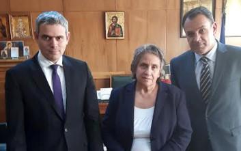 Συνάντηση με την ηγεσία του Αρείου Πάγου είχε αντιπροσωπεία της ΝΔ